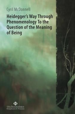 Heidegger's Way Through Phenomenology To the Question of the Meaning of Being. A Study of Heidegger's Philosophical Path of Thinking from 1909 to 1927 Book Cover